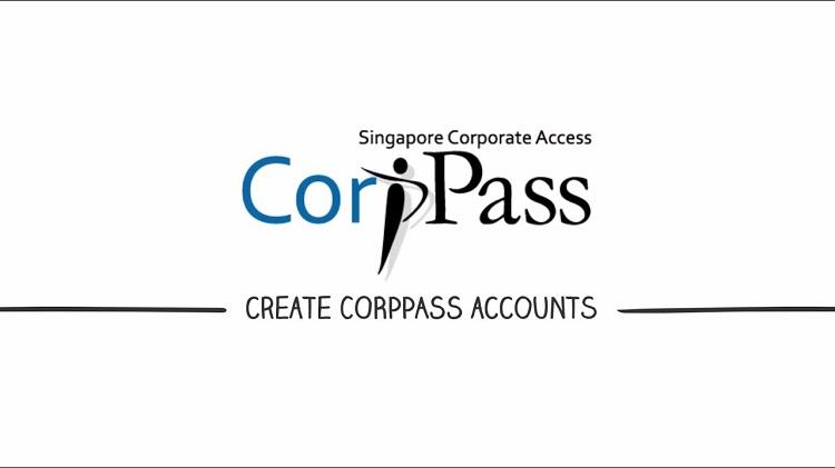 Đăng ký tài khoản CorpPass