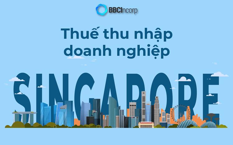 Thuế thu nhập doanh nghiệp Singapore