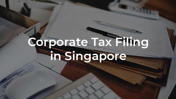 Báo cáo thuế tại Singapore
